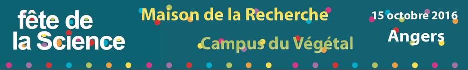Bienvenue sur le site Journée Campus du Végétal à la fête de la science