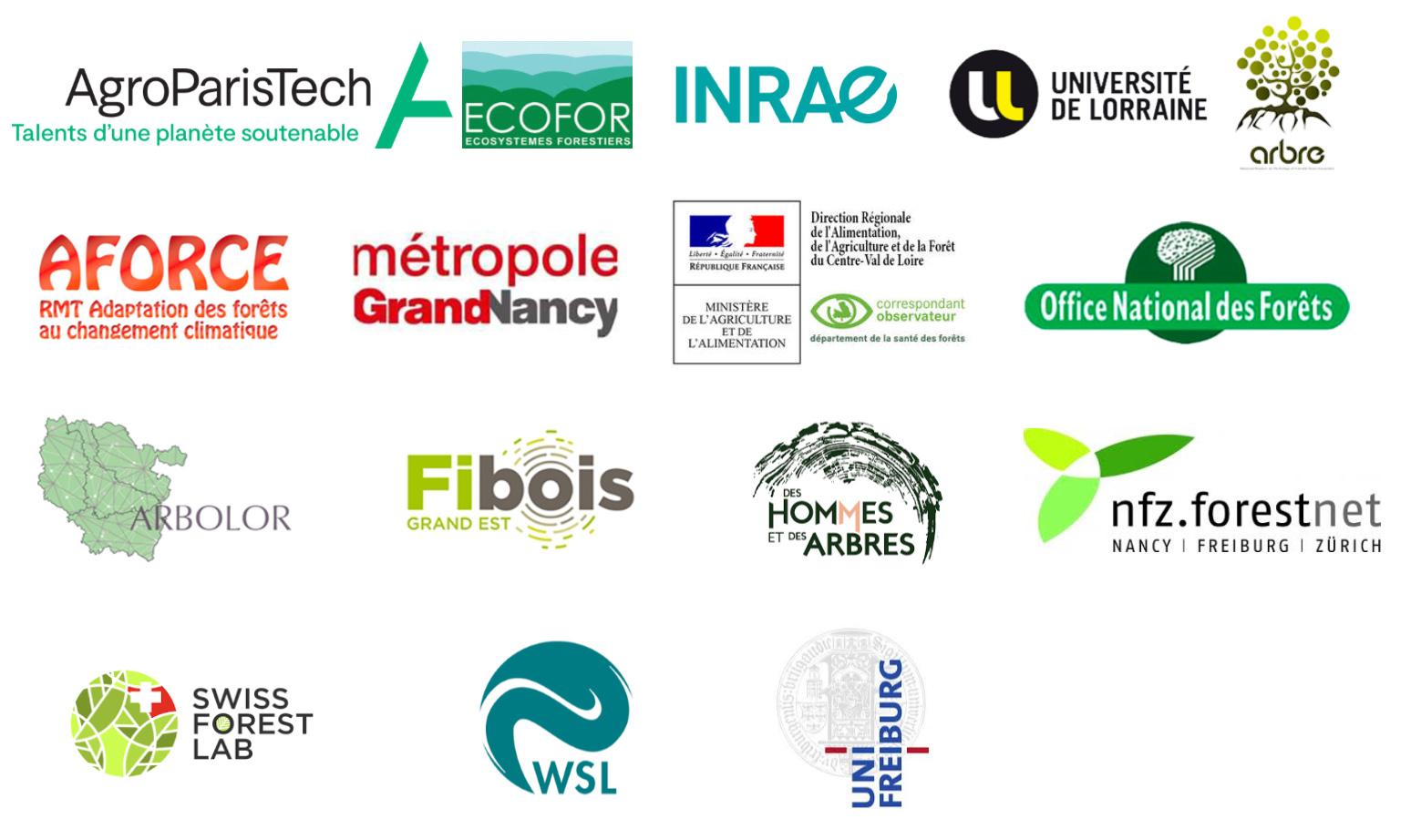 logos partenaires Regefor