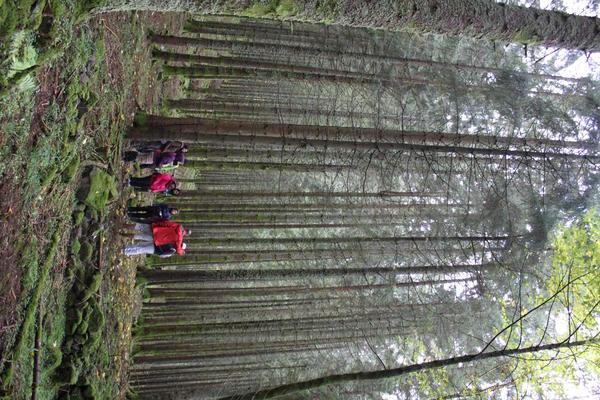étudiants sur le terrain Master FEN AgroParisTech Université de lorraine
